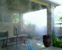 Искусственный туман для беседок