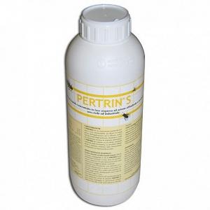 Натуральное средство для уничтожения комаров и прочих насекомых PERTRIN (Италия) 1л