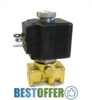 """Клапан электромагнитный NO ВР 1/4"""" 230В 60бар EVO-PRO IX, для систем высокого давления 60 атм"""