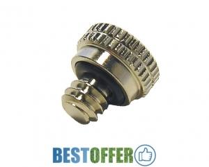 Головка форсунки (заглушка) із латуні Tecnocooling, високого тиску від 70 до 100 бар